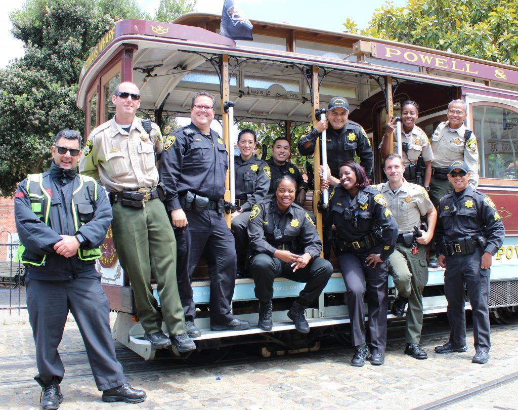 SF Deputy Sheriffs on Cable Car