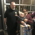 Deputy Sheriffs Association with Matt Haney Toy Give Away