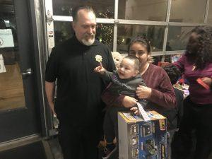 Deputy Sheriffs Association with Matt Haney Toy Give Away